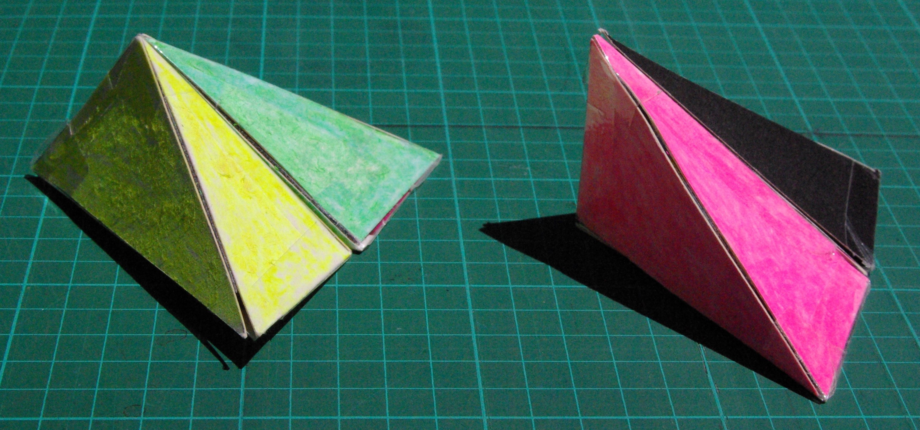 Picture of Second Way to Construct Four Congruent Non-regular Tetrahedra Part 1
