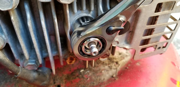 Tune Up, Remove the Air Filter and Spark Plug