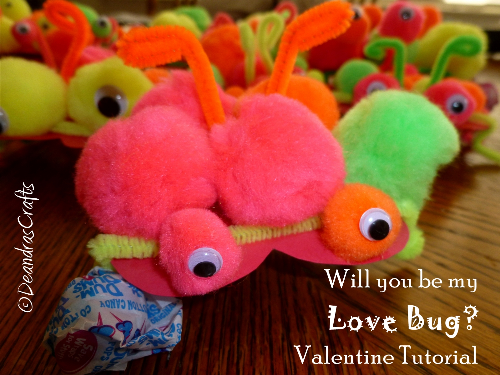 """Picture of """"Will You Be My Love Bug?"""" Kids Valentines"""