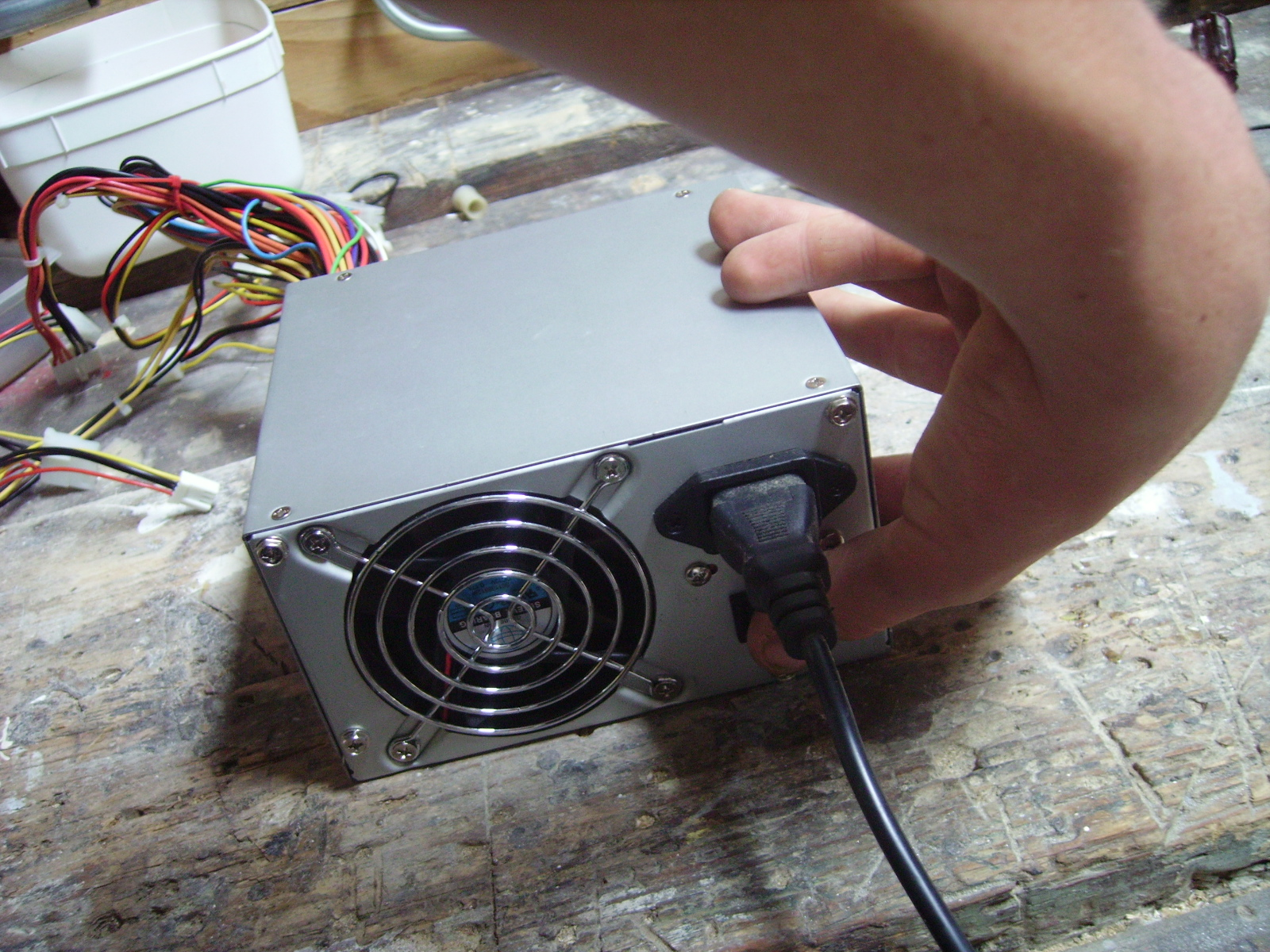 Picture of Getting the PSU to Work