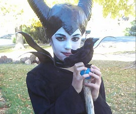 Make a Maleficent Headpiece Costume
