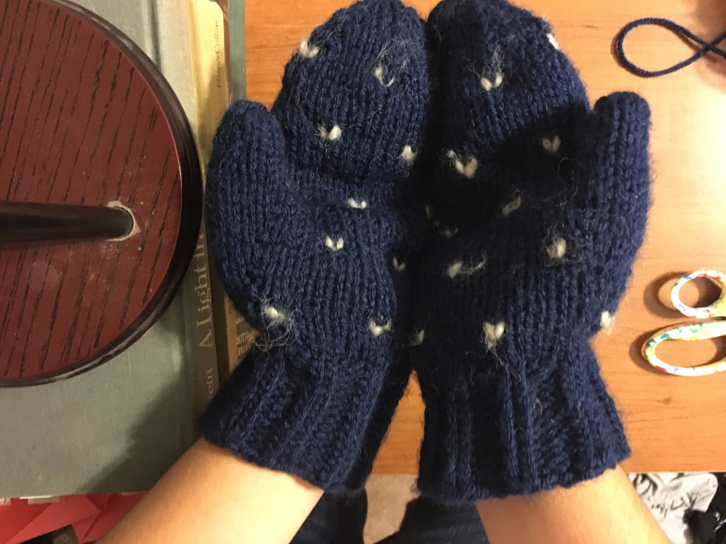 Picture of Hand-Knit Thrummed Mittens