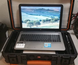 Portable Powered Laptop Case