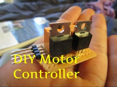 DIY MOSFET Motor Controller