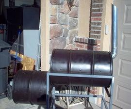 How to build a barrel smoker