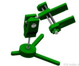 MAKE A CHEAP PCB HOLDER