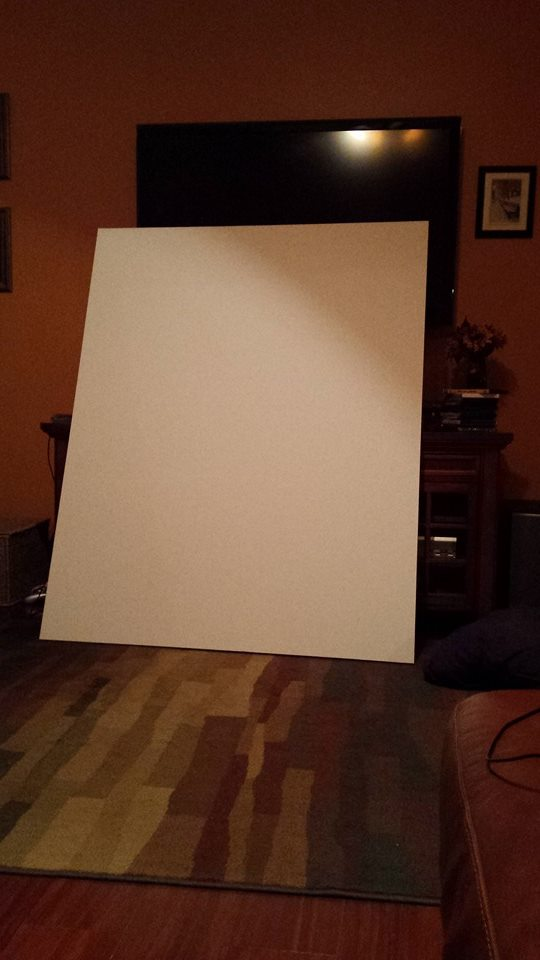 Picture of Making a Paper Canvas!