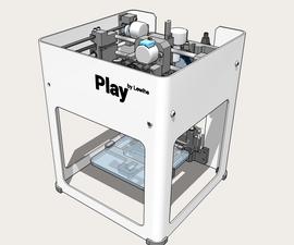 Play 3D LC - 139€ DIY 3D Printer