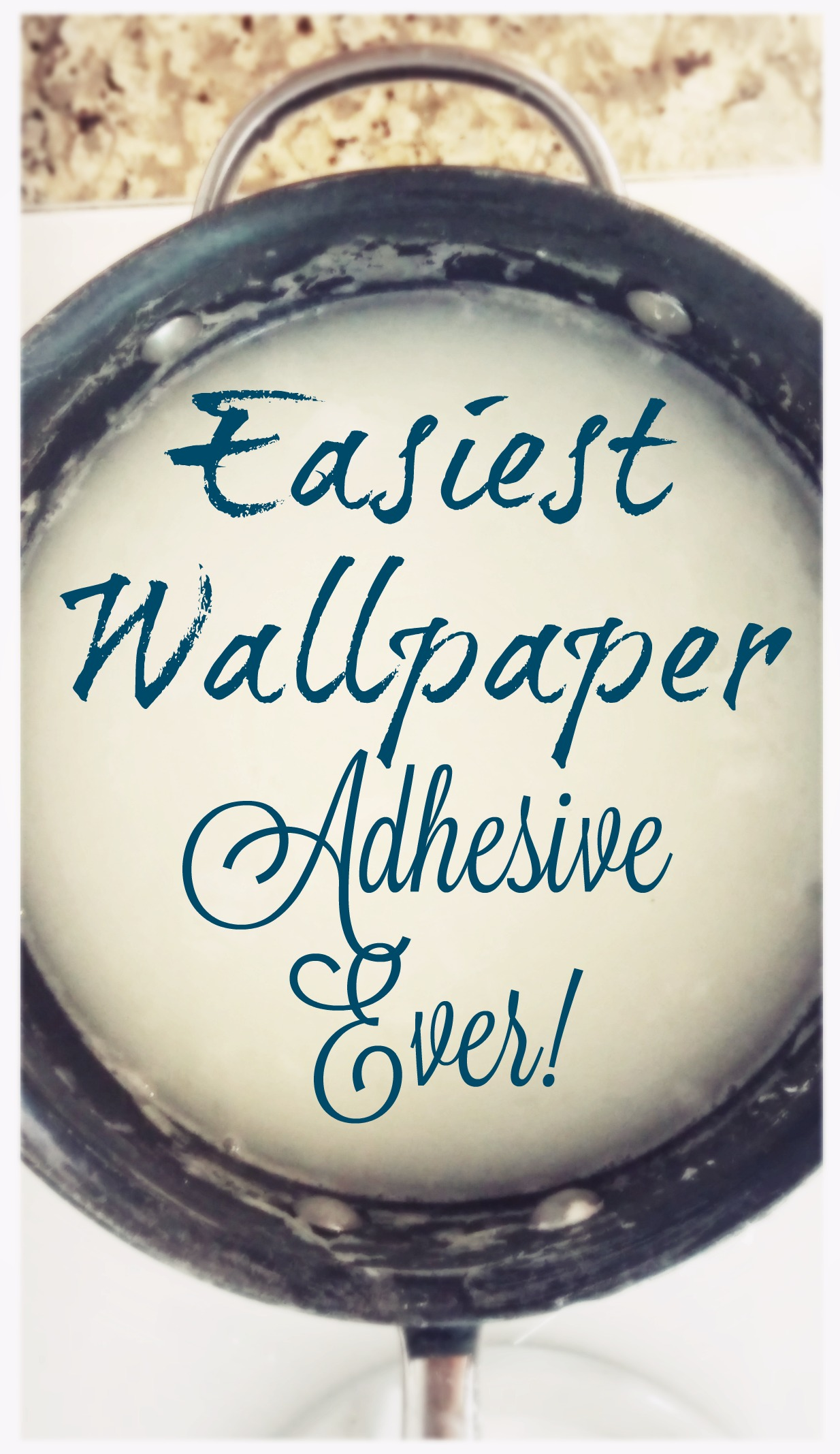 Picture of Make Wall Paper Adhesive