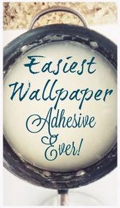 Make Wall Paper Adhesive