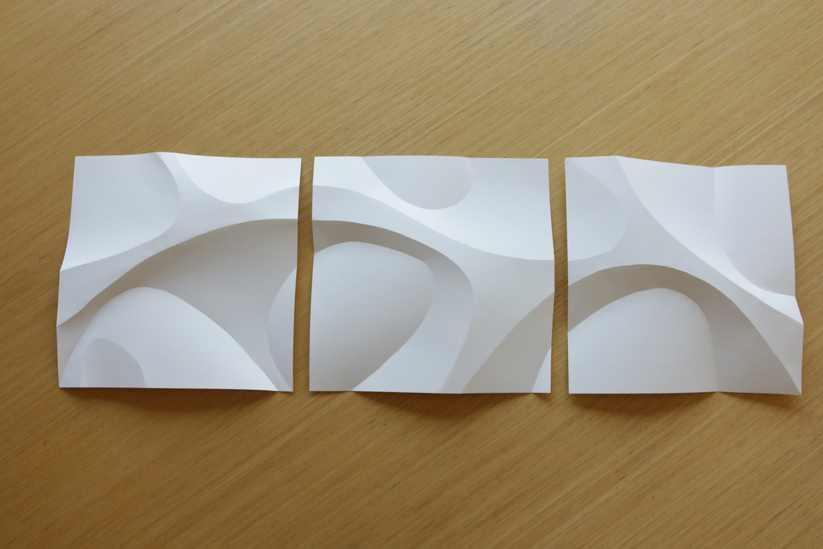 Picture of Curved Paper Folding