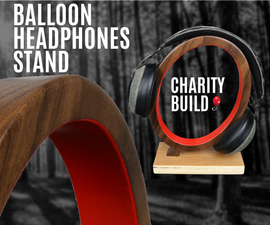 Simple Headphones Stand - Balloon Shape