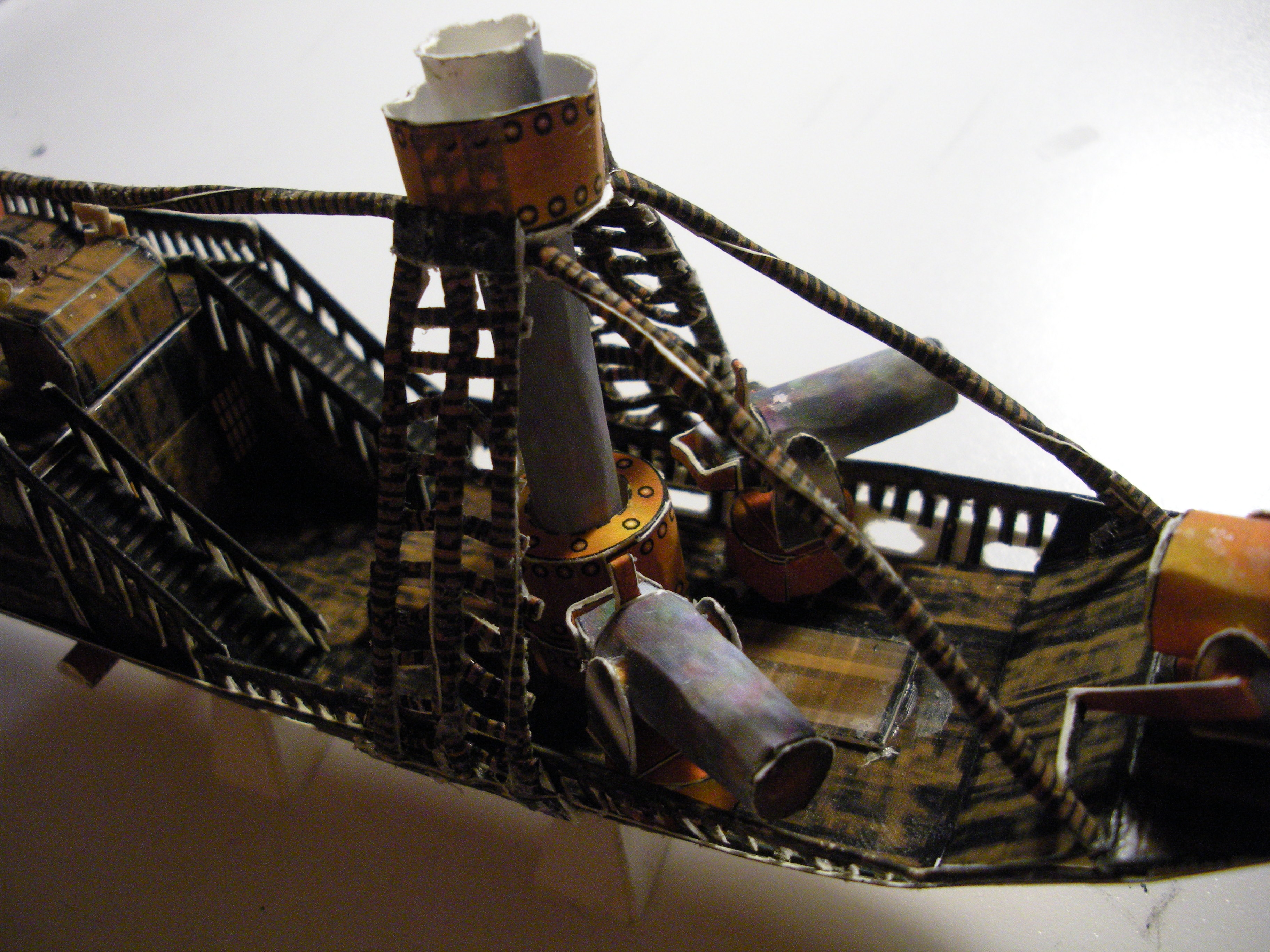 Picture of Papercraft Airship: Hull Part 2