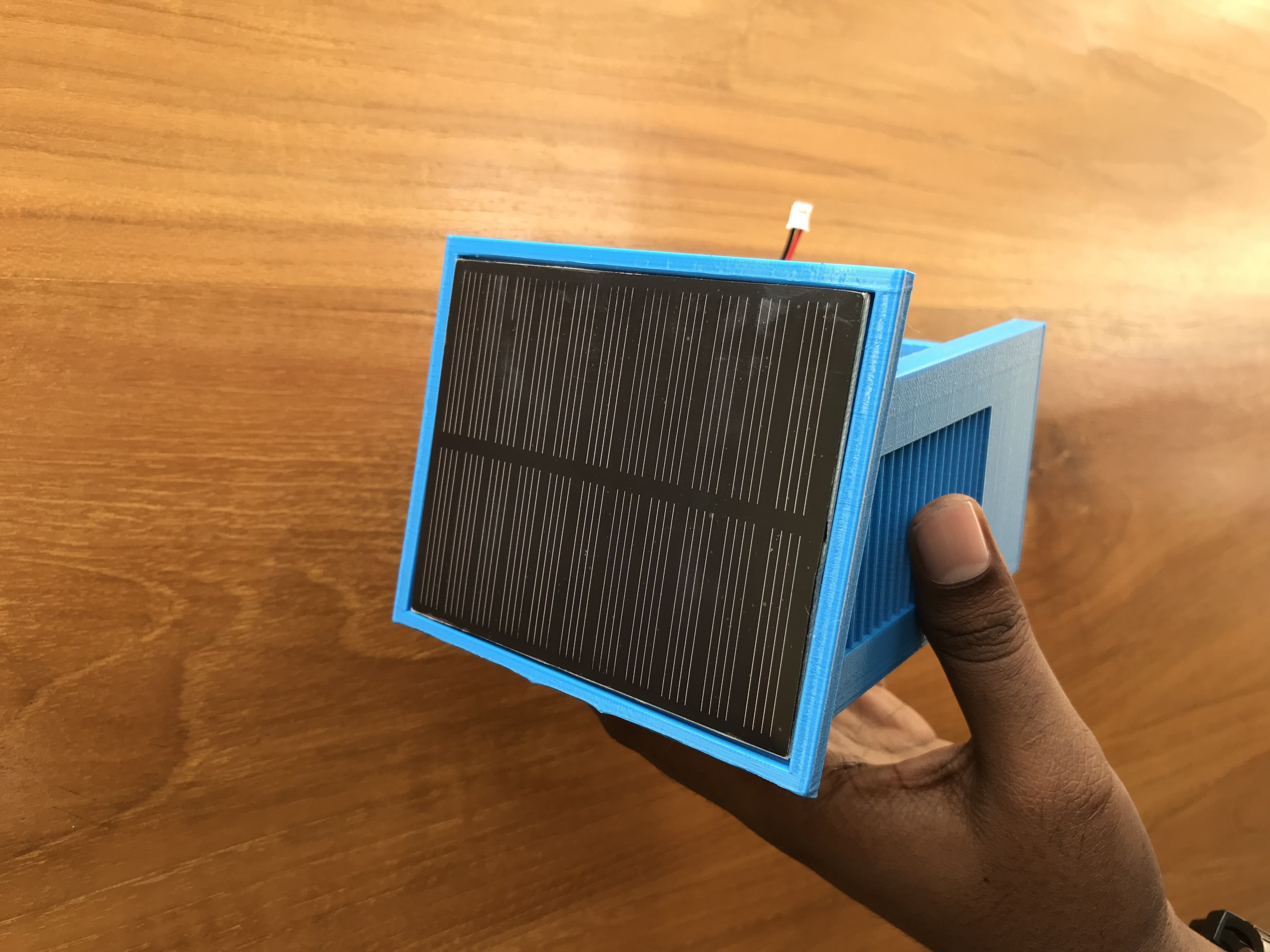 Picture of Connecting Solar Panel and Main Board