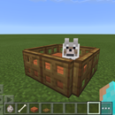 How to make a pet bed in Minecraft PE 0.13.0 +