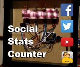 Social Stats Counter