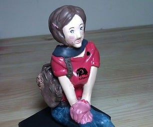 Clay Doll for Your Love One