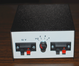 Battery Powered Power Supply, Selectable Voltage