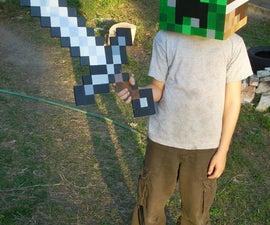 Simple Minecraft Creeper costume