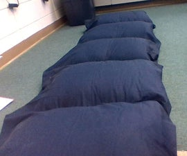 Easy Pillow Bed