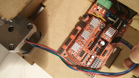 Step 9 – Connect All Wires to Ramps Board