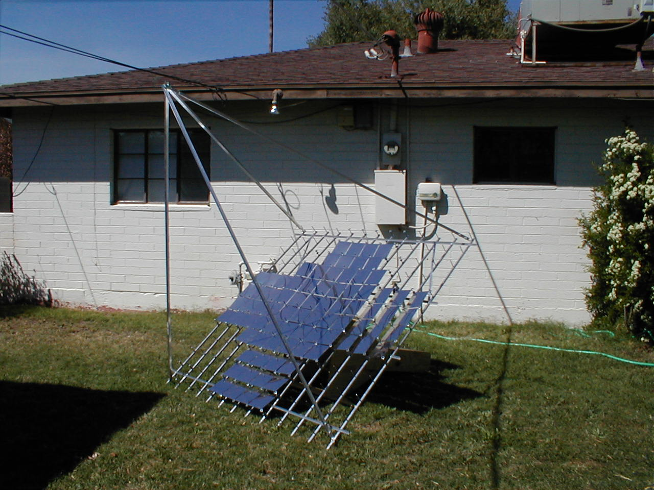 Picture of Multifacet Parabolic Solar Concentrator