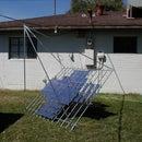 Multifacet parabolic solar concentrator