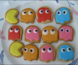 Pacman Sugar Cookies