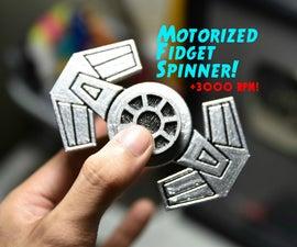DIY Motorized Fidget Spinner!