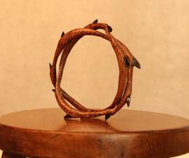 Dragon's Tail Carved Bracelet