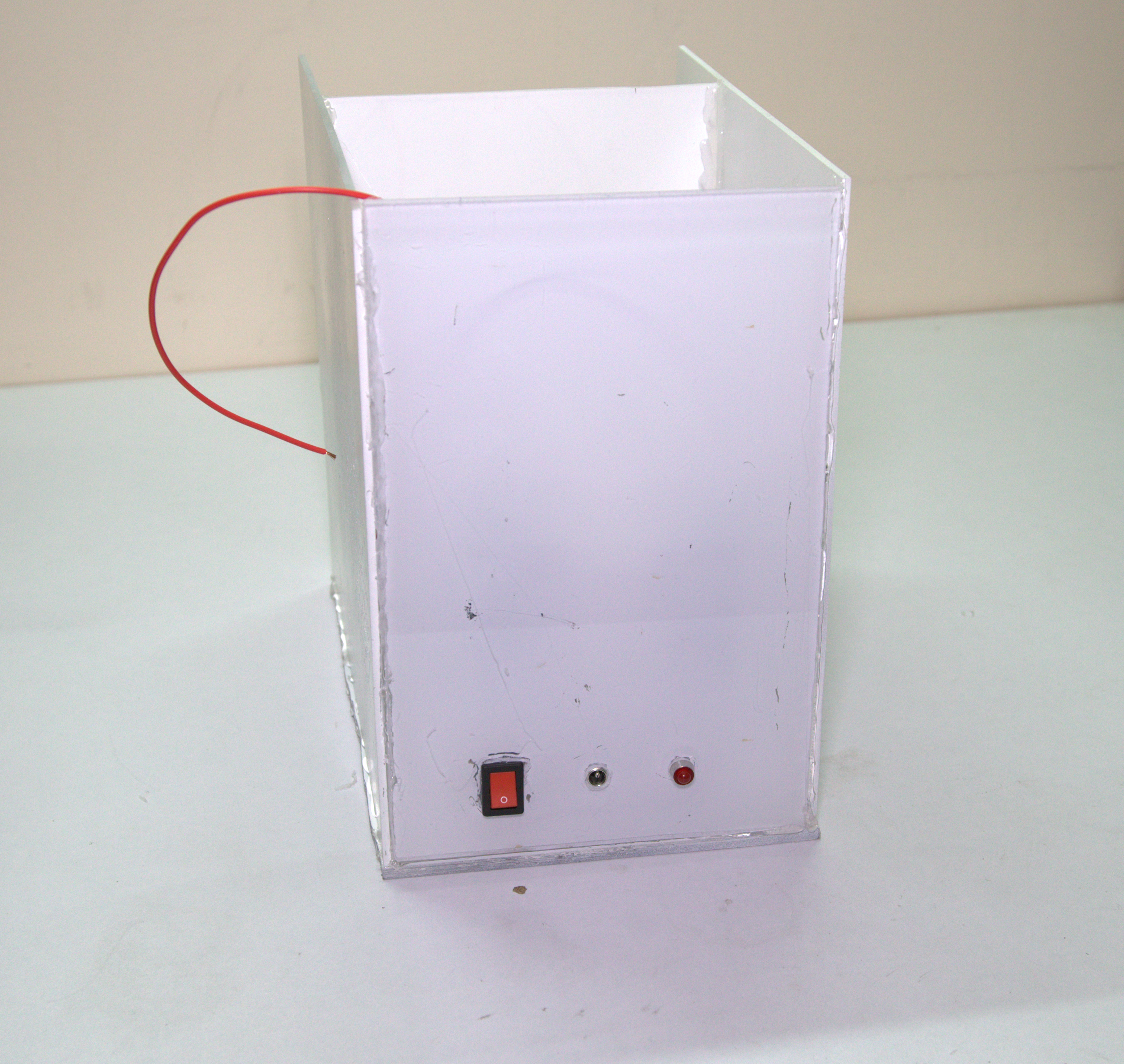 Picture of Make Compartment for Electronics Circuits