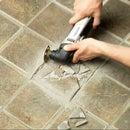 Removing Broken Floor Tile