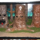 A Clay Living Tree Diorama