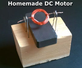Homemade DC Motor! - How to Make a Simple DC Motor! - Simple DIY Project (full Instr.)