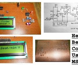 Heart-Beat Counter using MSP430