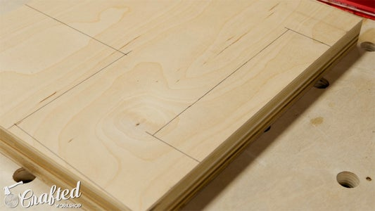 Cut Recess for Step, Leg Cutouts, and Tapers