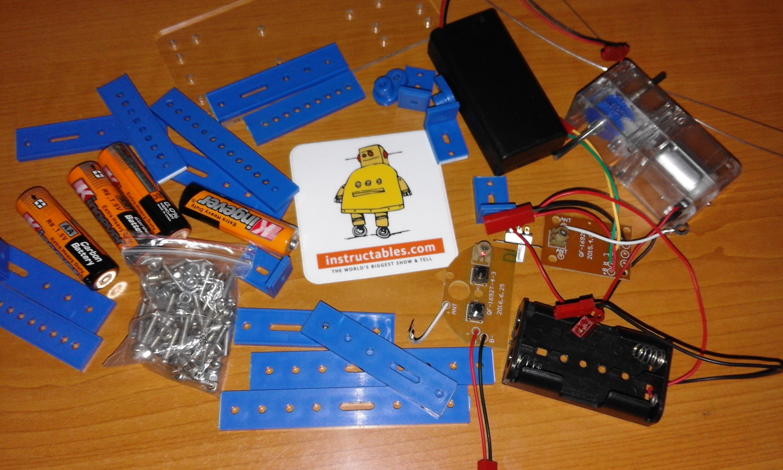 Picture of Materials (The DIY Kit)