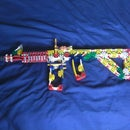 Knex M4 tactical Carbine