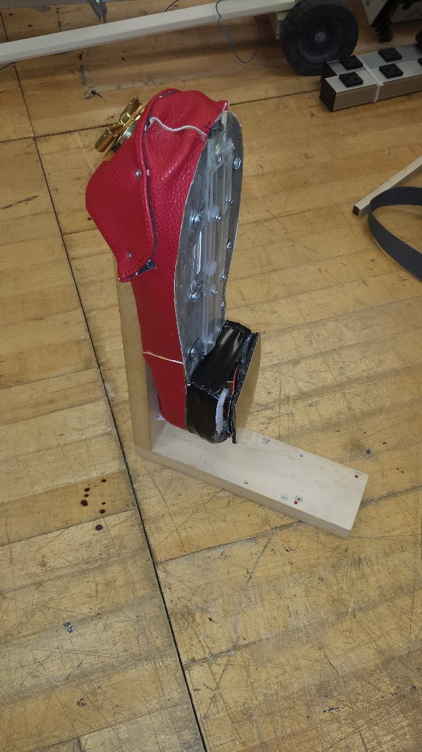 Picture of Building the Shoe Pedestal
