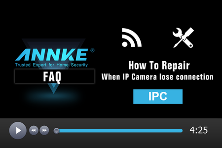 How to Fix It When IP Cameras Lose Connection With NVR