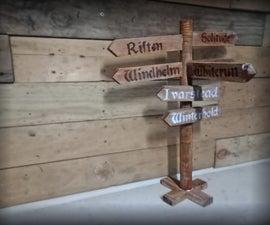 Desktop Skyrim Signpost