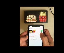Pixel Art LED Frame With Free Bluetooth Apps