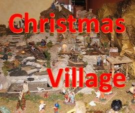 Christmas Nativity Village Scene (version 2.0)