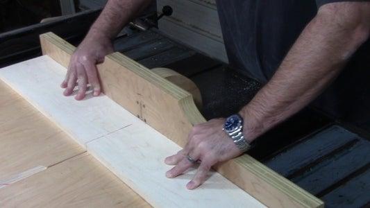 Cross Cut Your Materials.