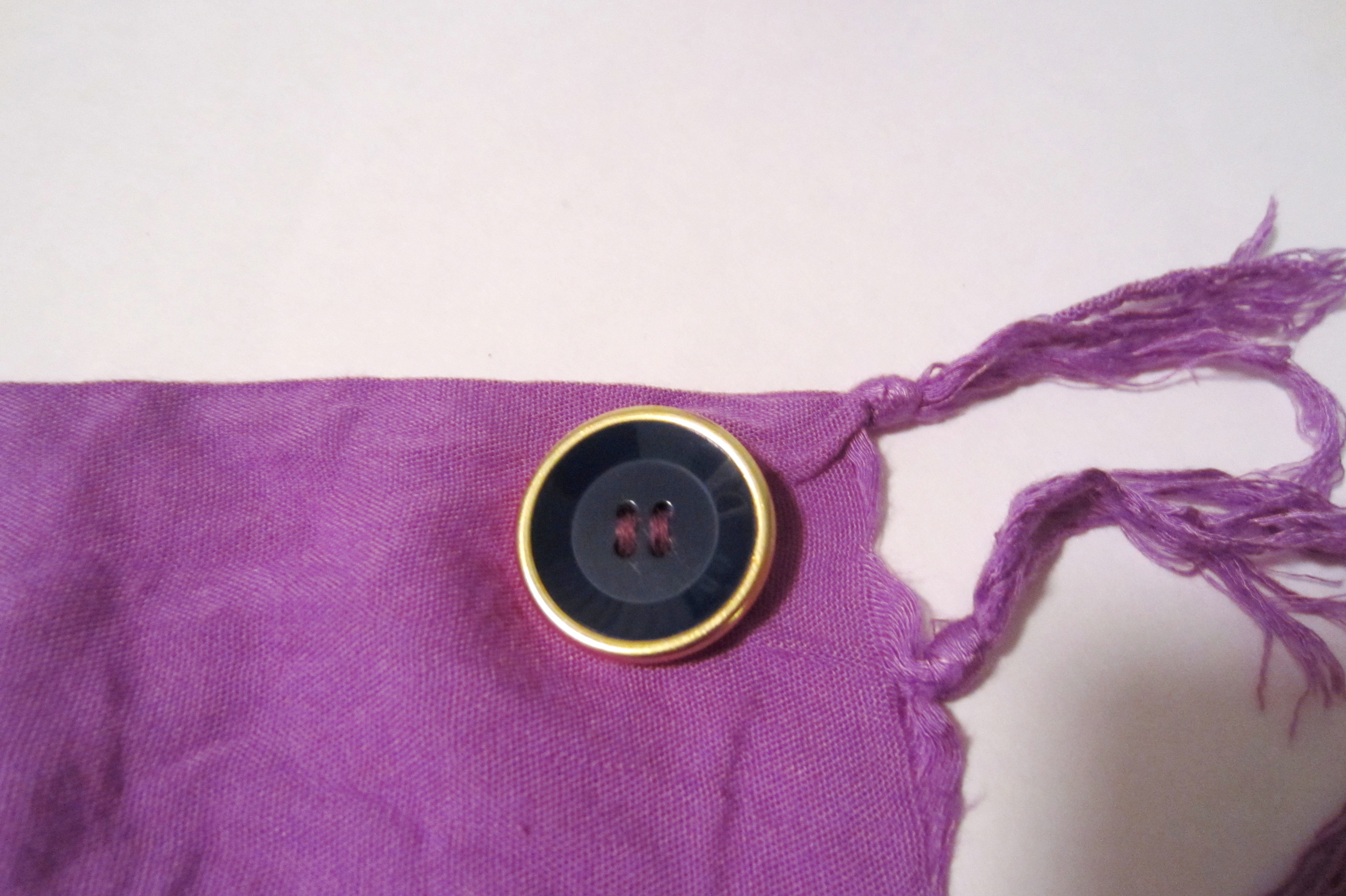 Picture of Sewing the Button