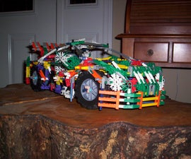 K'nex Nissan 350z, by Bannana Inventor.
