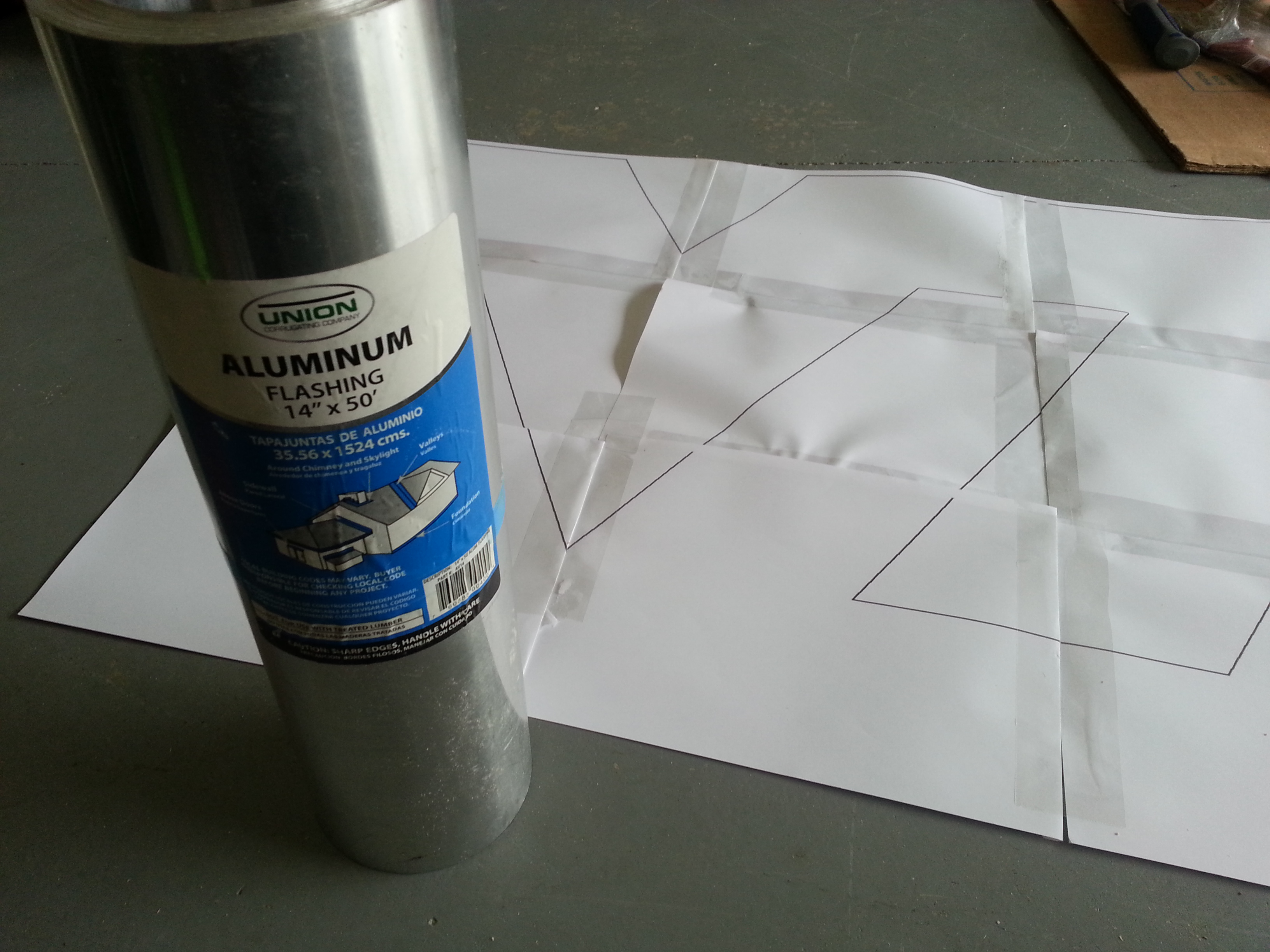 Picture of Creating the Aluminum VT Logo