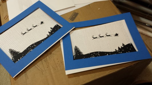 Punch Holes and Add the Frame