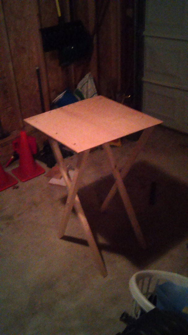 Picture of Simple Mobile Folding Work Table