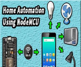 Home Automation Using NodeMCU | Iot Projects | Firebase | Nodemcu Esp8266